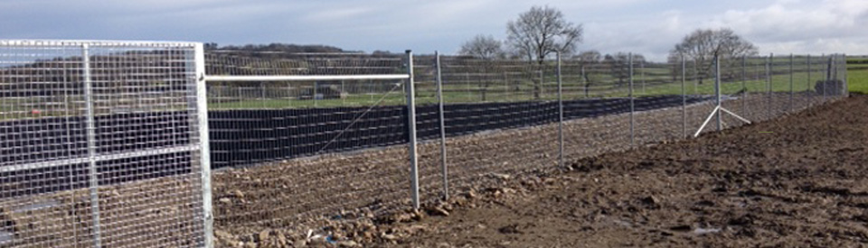 200 Million Gallon Slurry Lagoon Fencing