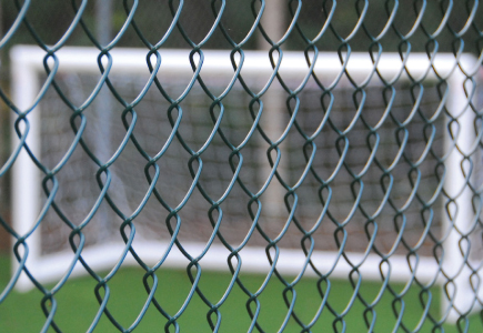 PVC Coated Chain Link Fencing for Sport & Leisure